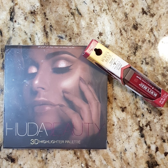 HUDA BEAUTY Other - Huda Beauty and Burt's Bees Makeup Bundle